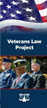 Veterans Law Project brochure cover